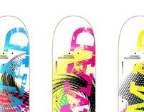 Nomad Skateboards CMYK Team Series