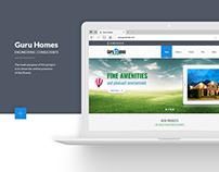 Guru Homes Website Design