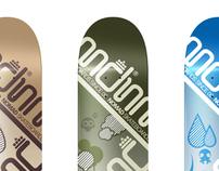 Nomad Skateboards Elements Team Series
