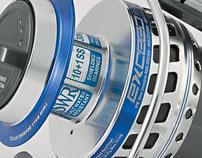 Fishing reel design / Дизайн и реклама катушки