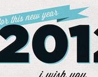 2012 wish cards