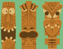 Tiki Characters