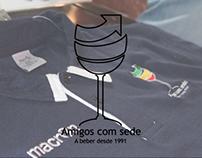 'Amigos Com Sede' Logo Brand