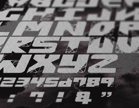 Mesh Typeface