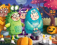 Halloween monster party