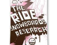 Ride Snowboard Art Contest