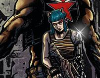 DARK FRONTIER Caliber Comics