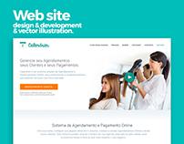 Website Design and Development for Calendrier.com.br