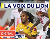 """Magazine en ligne """"La Voix du Lion"""""""