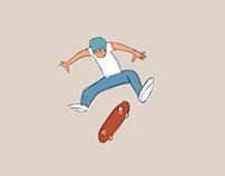 Skater Ollie