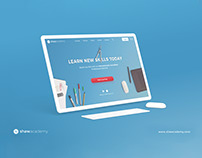 Shaw Academy- The Website & Brand