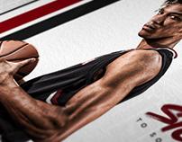 Gamecock basketball social media recruiting graphics
