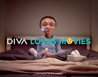 DIVA Loves Movies - Ident - Drama