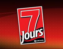 7 Jours - première version du site (2006)