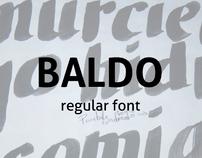 Baldo experimental typography