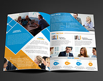 Bifold marketing brochure