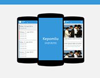 Kepomilu (Mobile App)