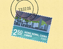 Explore Hong Kong Stamp Collection Concept
