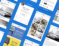 Online furniture shopping - App UI Kit iOS