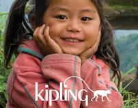 Kipling Charity Campaign