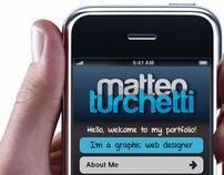 MATTEO TURCHETTI mobile site