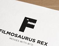 Filmosaurus Rex Visual Identity