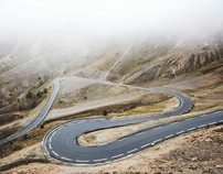 Curves Route des Grandes Alpes