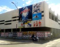 Producción e instalación de lonas publicitarias