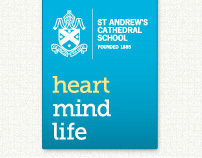 St Andrew's Cathedral School Website Re-Design