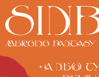 Typeface Design: Sinbad