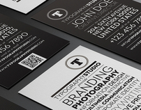 Typography Studio Business Card Design