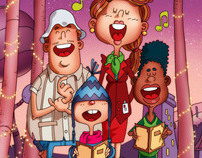 Christmas, carols and big headed breadheads.
