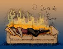 El Sofá de Fuego