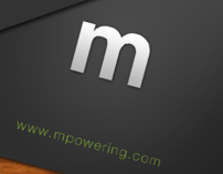 mPower - business card design