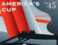 America's Cup Stamps