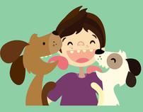 Ilustraciones Asociacion Rescate Animales