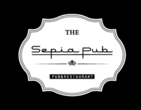 New logo for «Sepia Pub»