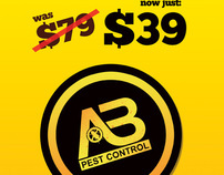AB Pest Control - Trade show booth design