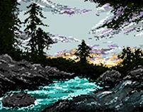 DUST - pixel Art