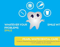 Banners for PearlWhite Dental Care