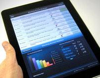 RBC iPad UX, UI and visual design.