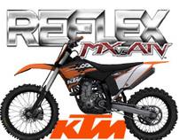 KTM motocross bikes