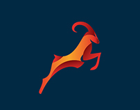 Scimitar Oryx - Branding