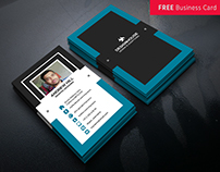 Free Business Card Template download || Freebie || PSD