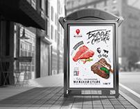MEAT STATION / Алматы / Разработка фирменного стиля