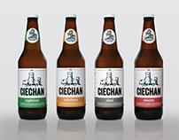 Redesign of Ciechan Beer Labels