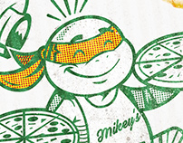 Teenage Mutant Ninja Turtles Pizza Box