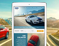 Mustang Microsite Concept