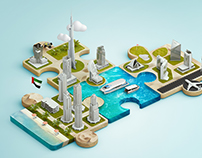 Dubai Water Canal promotion campaign