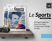 Le Sports | InDesign MGZN Template